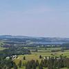 Panorama from Neuschwanstein Castle